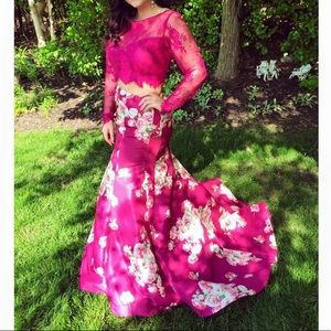 Floral two piece Sherri Hill